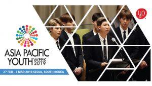 Cơ Hội Tham Dự Tuần Lễ Thanh Niên Châu Á Thái Bình Dương - Asia Pacific Youth Week 2019 (Có Tài Trợ)-địa điểm Hàn Quốc