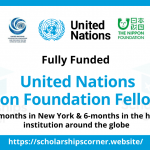hoc-bong-toan-phan-ngan-han-chuong-trinh-the-united-nations-nippon-foundation-fellowship-2022